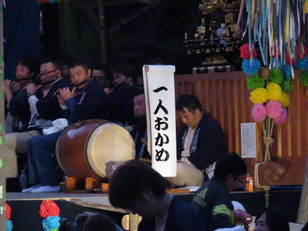 大脇神明社 『大脇梯子獅子』7