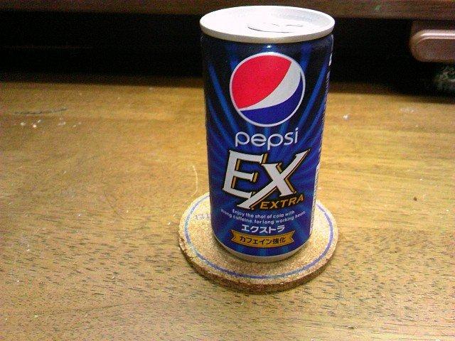 カフェインが2倍になったペプシ 「ペプシEX」を飲んでみた