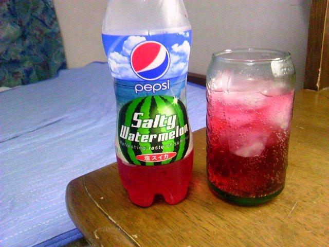 ペプシ 塩スイカ味3