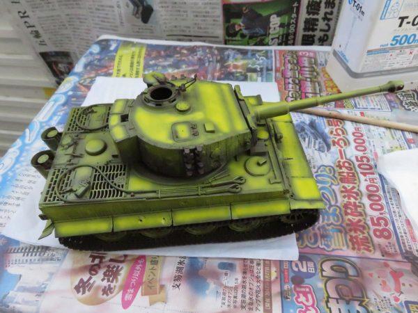 ティーガーI後期型 ハイライト塗装2