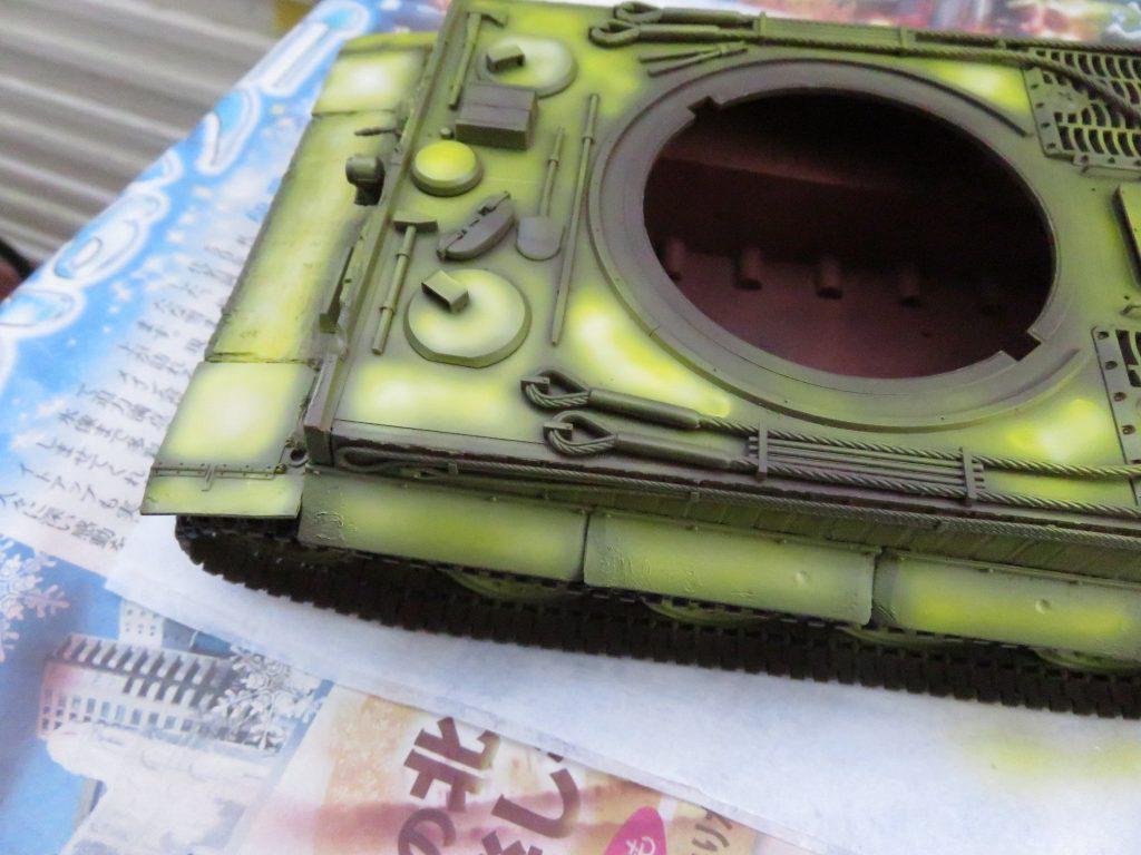 ティーガーI後期型 ハイライト塗装4