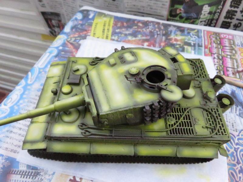 ティーガーI後期型 ハイライト塗装5