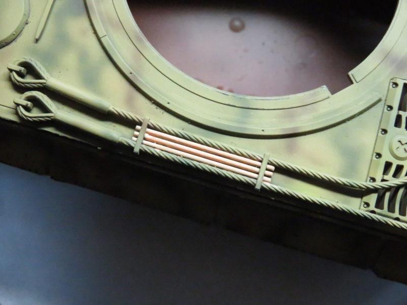 ティーガーI OVMの塗装 クリーニングロッド