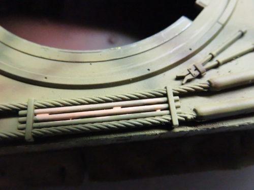 ティーガーI OVMの塗装 クリーニングロッド2