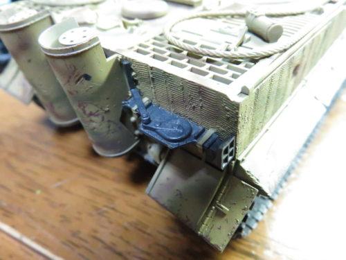 ティーガーI OVMの塗装 ジャッキ