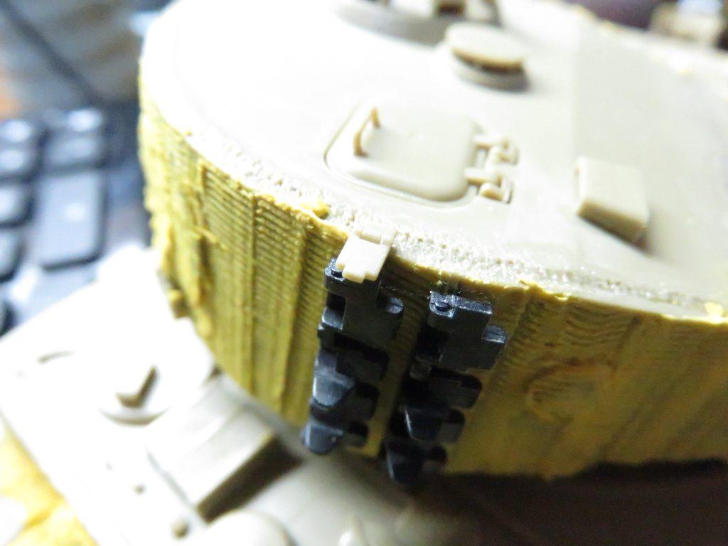 ティーガーI後期型 予備履帯取り付け3