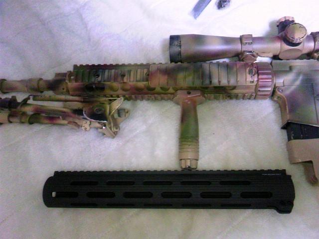 Madbull VTAC Extreme BattleRail13 SPR Mk12 Mod1と比較
