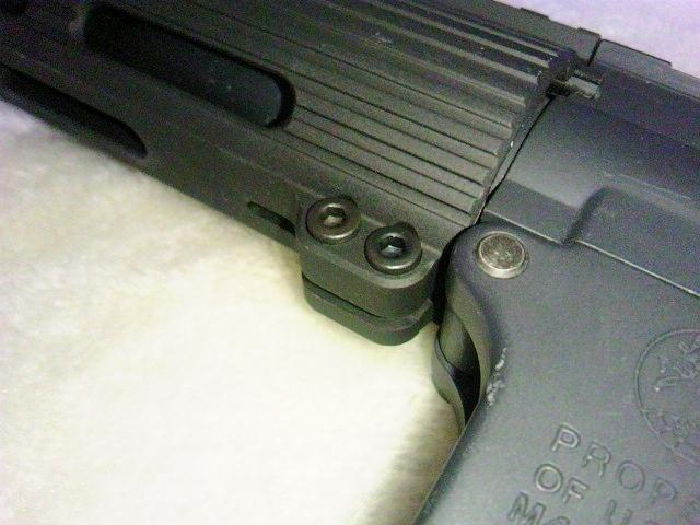 Madbull VTAC Extreme BattleRail13 銃本体へ取り付け8