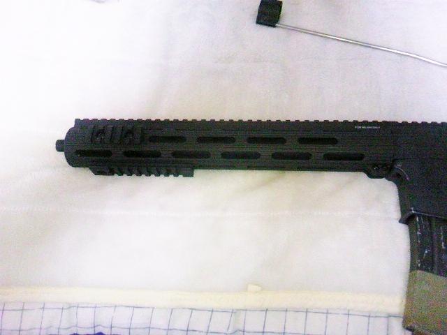 Madbull VTAC Extreme BattleRail13 銃本体へ取り付け9