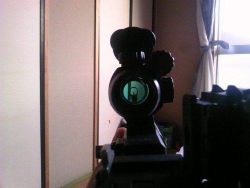 M4 ダットサイト 視界