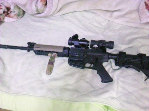 G&P レディマグ M4への装着例4
