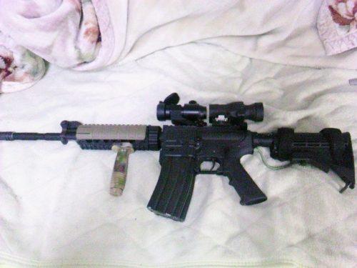 G&P レディマグ M4への装着例5