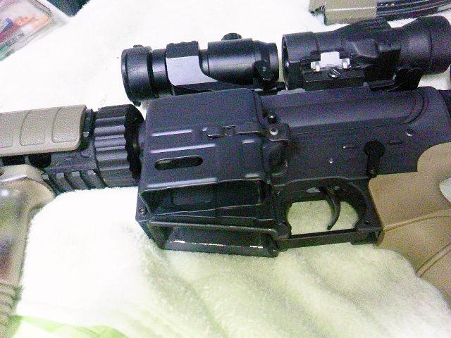 G&P レディマグ M4への装着例