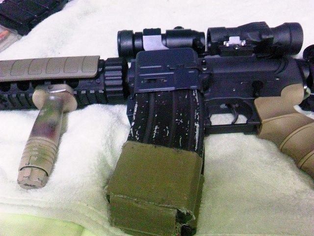 G&P レディマグ M4への装着例2