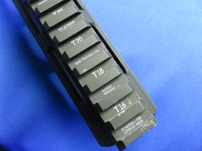 Madbull VTAC Extreme BattleRail13 トップレイルの刻印