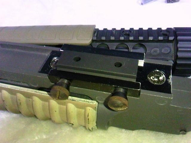 Madbull VTAC Extreme BattleRail13 20ミリレイル3