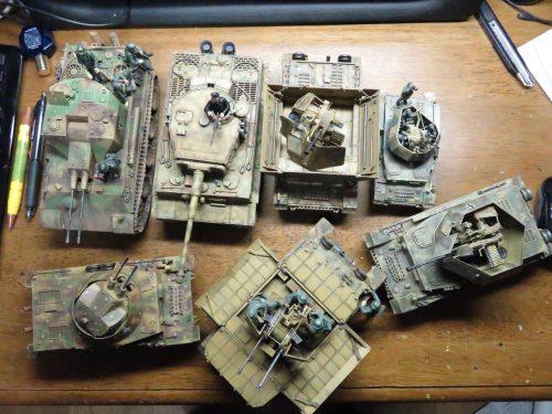 今まで作った戦車たち
