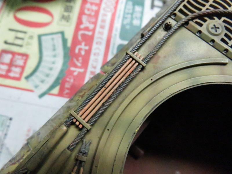 ティーガーI OVMの重ね塗り2