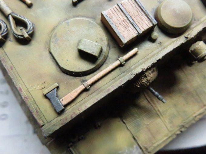ティーガーI OVMの重ね塗り4