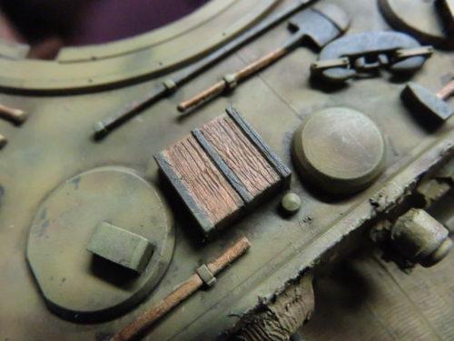 ティーガーI OVMの重ね塗り6