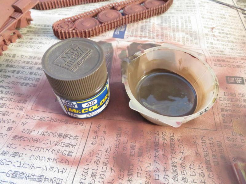 ヘッツァー 下地塗装 影の塗装3