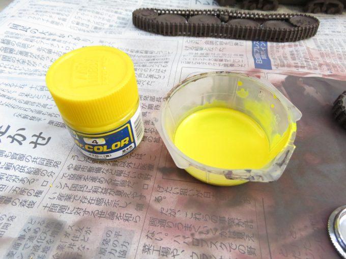 ヘッツァー 下地塗装 ハイライト塗装