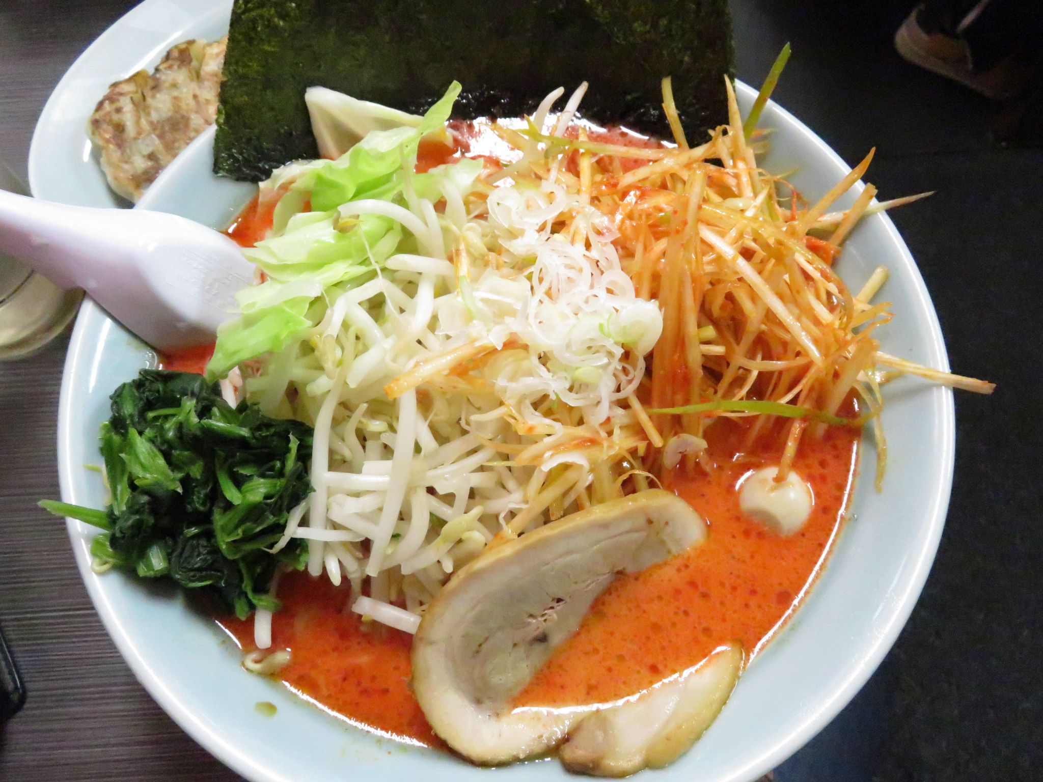 静岡のラーメン屋で食べたラーメン