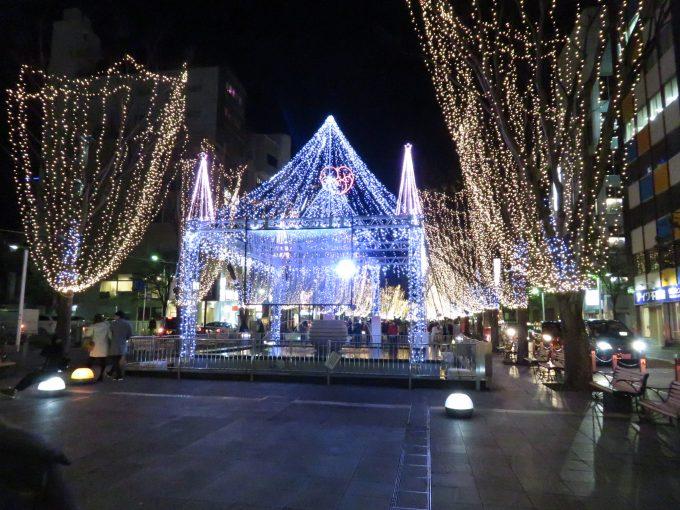 静岡 青葉シンボルロード イルミネーション2