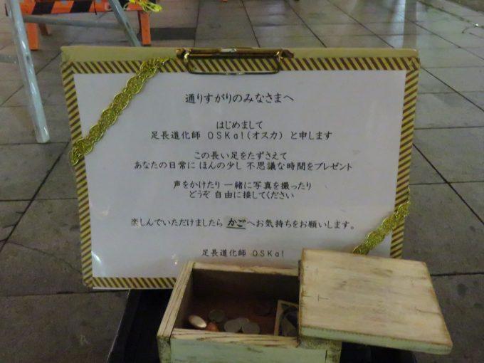 青葉イベント広場の大道芸人4