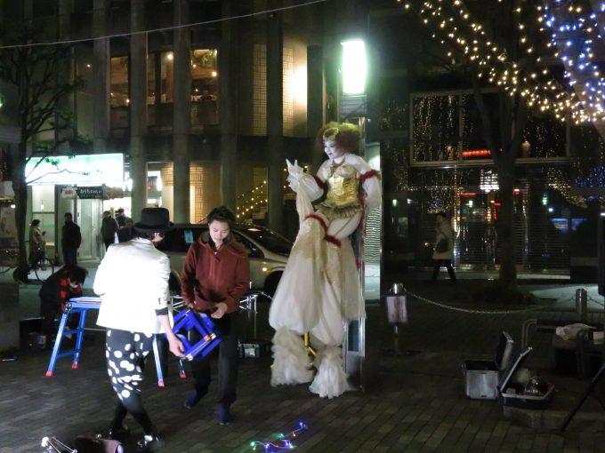青葉イベント広場の大道芸人5