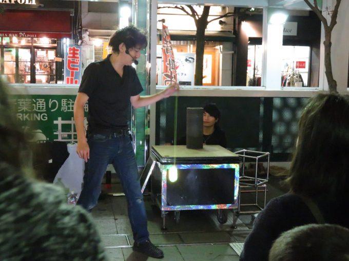 青葉イベント広場の大道芸人6
