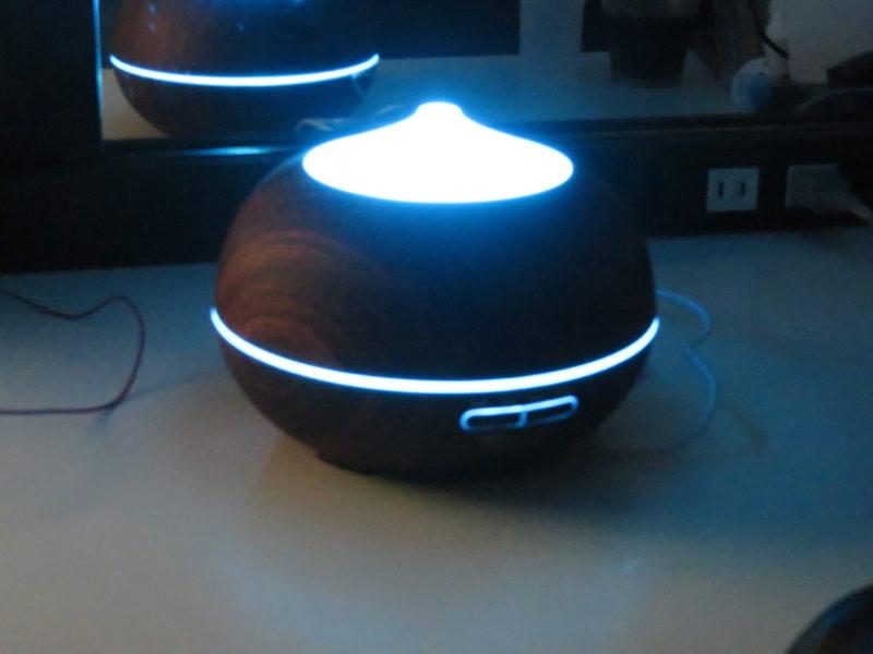 Tenswall 超音波式 アロマディフューザー加湿器 発光例6