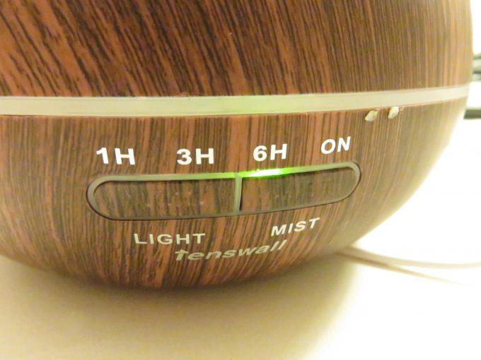 Tenswall 超音波式 アロマディフューザー加湿器 使用方法6