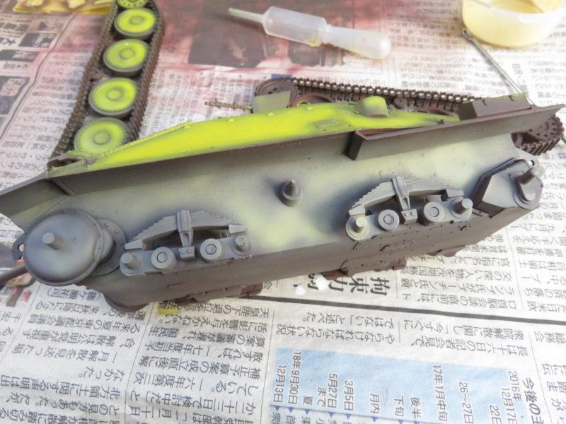 ヘッツァー 車体塗装4