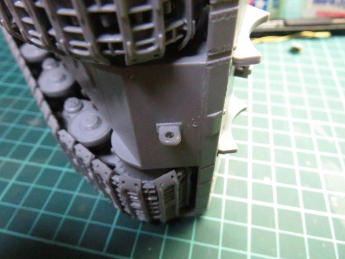 超重戦車マウス 牽引用ホール