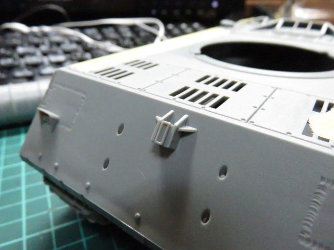 超重戦車マウス 燃料タンク基部