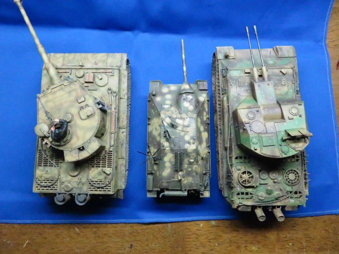ヘッツァーと戦車たち