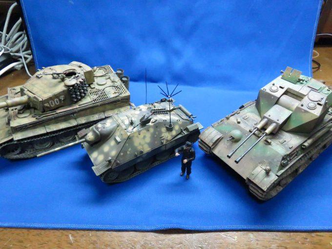 ヘッツァーと戦車たち2