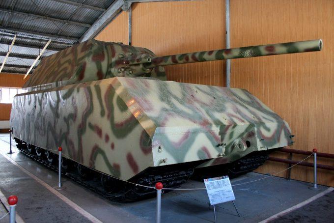 クビンカ戦車博物館のマウス