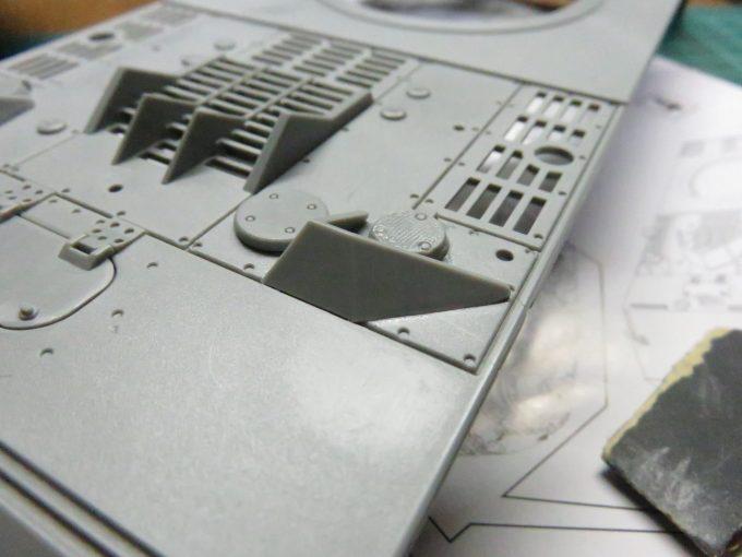 超重戦車マウス 給油口の跳弾版