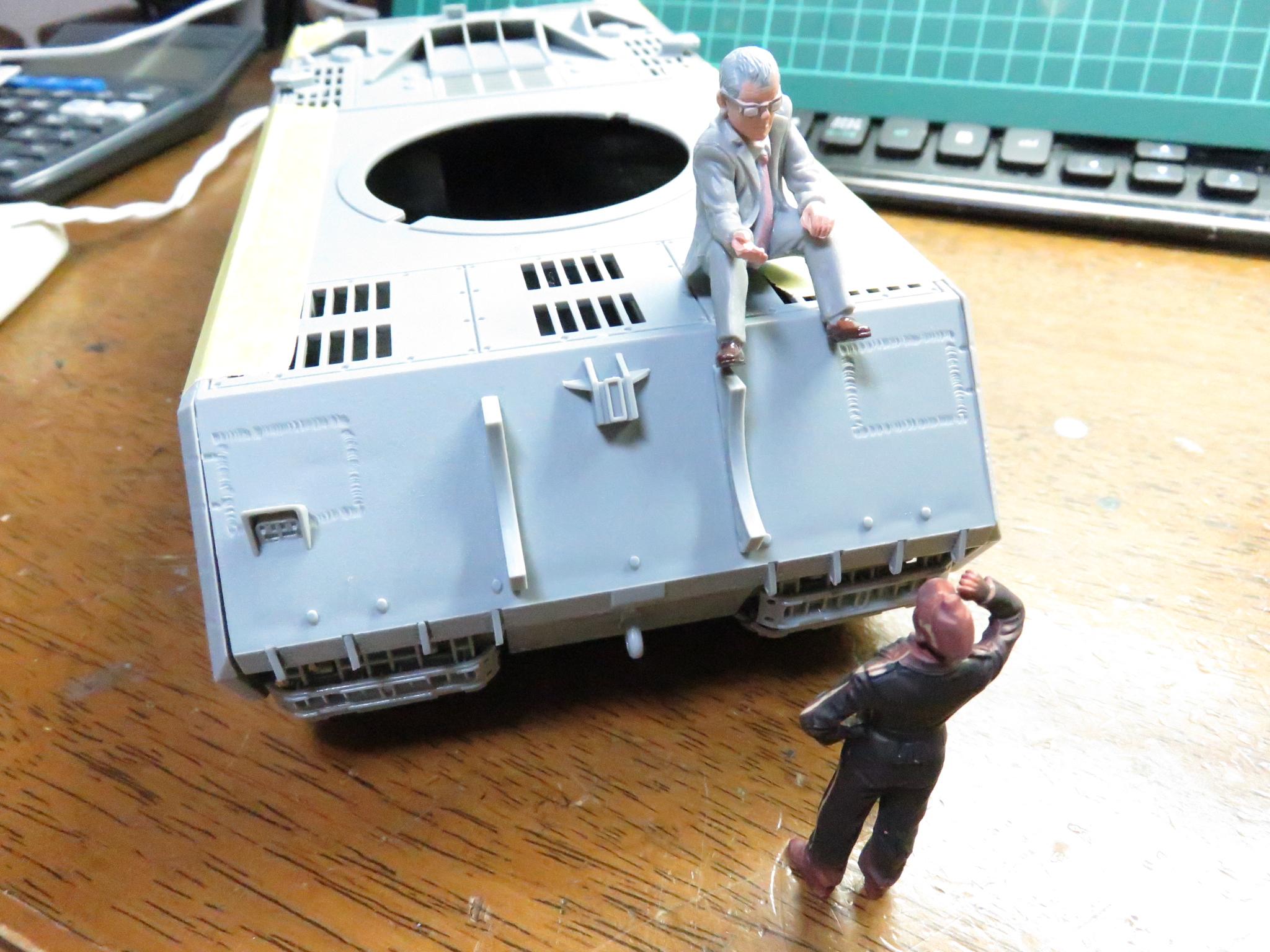 超重戦車マウス 車体の完成(仮)2