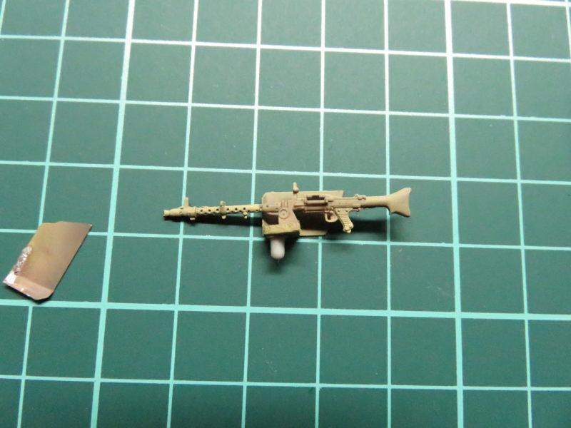 ヘッツァー 車載機銃の塗装