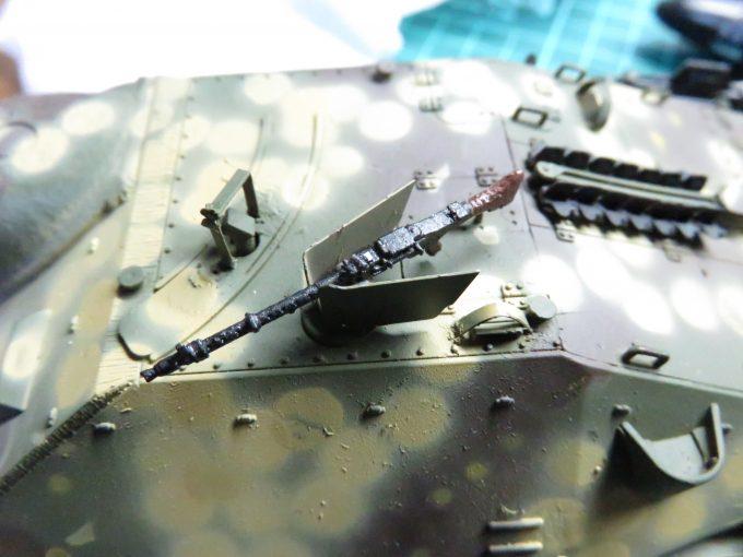 ヘッツァー 車載機銃の塗装3