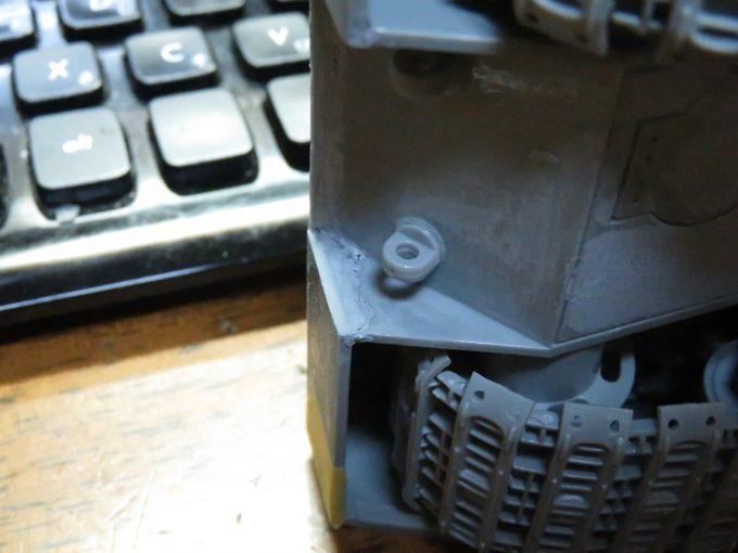 超重戦車マウス 車体の隙間埋め2