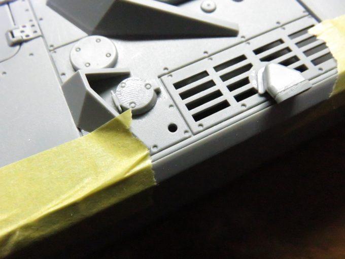 超重戦車マウス アンテナ基部の追加