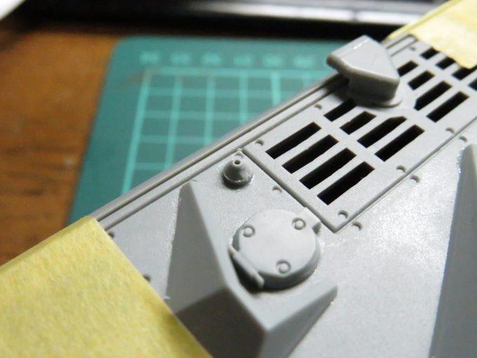 超重戦車マウス アンテナ基部の追加3