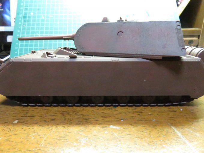サフ吹きが終わった超重戦車マウス