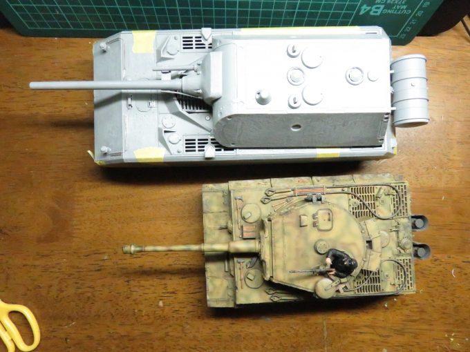 超重戦車マウスとティーガーI