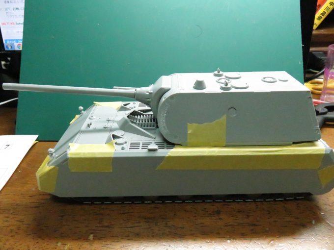 超重戦車マウス 組み立て完了(仮)