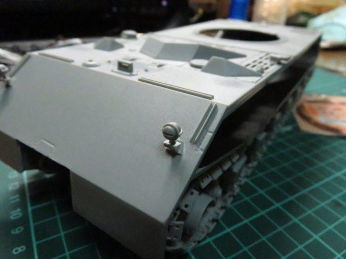 超重戦車マウス ボッシュライトの配線追加